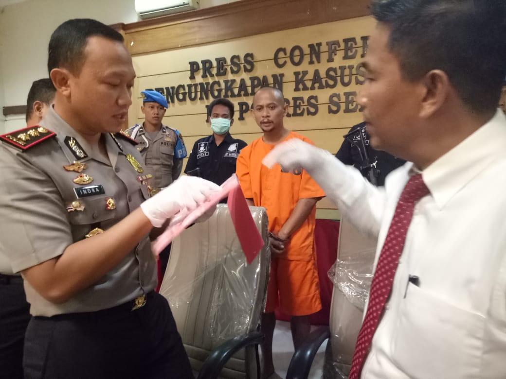 Polres Serang Kabupaten Tangkap Pengedar Sabu Bantennews Co Id