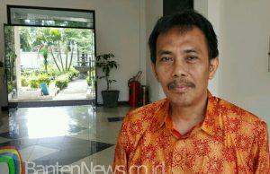 Direktur BPRS Cilegon Mandiri, Idar Sudarma. (Foto : Gilang)
