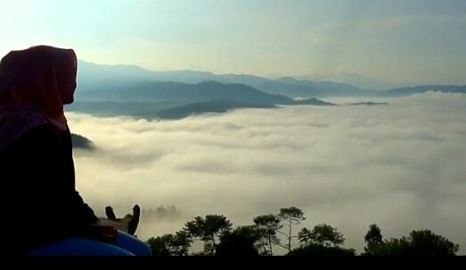 Indahnya Pemandangan Di Gunung Kendeng Lebak Bantennews Co Id