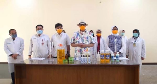 Gubernur Banten Instruksikan OPD Buat Hand Sanitizer